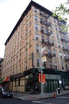 Building at Baxter & Bayard...