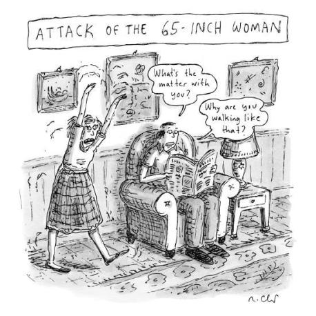 attack-of-the-65-inch-woman-a-woman-walks-like-a-zombie-into-the-living-new-yorker-cartoon_u-l-pgsdkd0